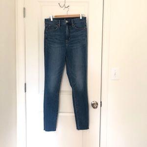 GAP True Skinny High Rise Jeans TALL